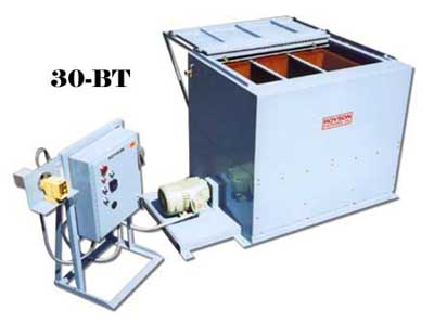 Vibratory Tub with control console and sliding sound cover