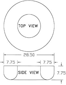 Inside Bowl Dimensions