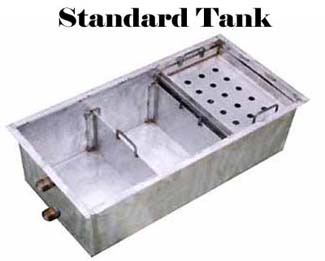 Standard Stainless Steel Setting Tank